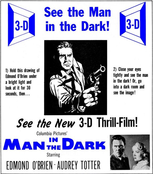 Man in the Dark 3D (Plakat)