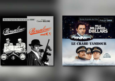 Neu von Music Box: Claude Bolling & Philippe Sarde