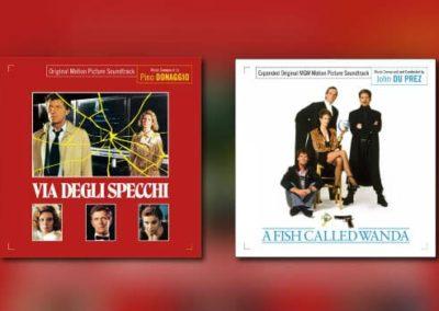 Neu von Music Box: Pino Donaggio & John Du Prez