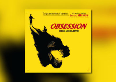 Bernard Herrmanns Obsession von Music Box Records