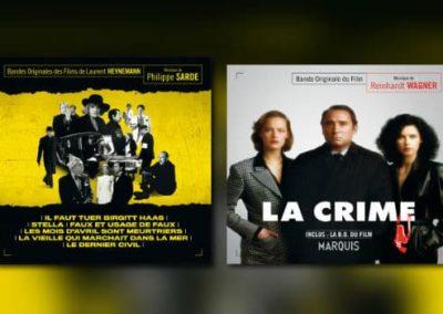 Neu von Music Box: Philippe Sarde & Reinhardt Wagner