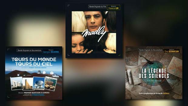 Neu von Music Box: Delerue, Lai & Demarsan
