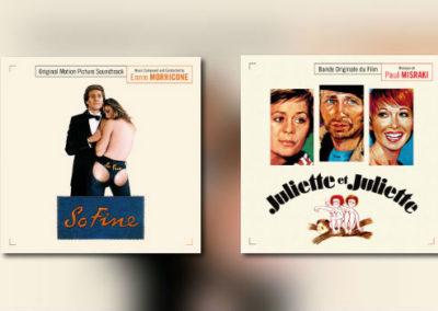 Neu von Music Box: Ennio Morricone & Paul Misraki