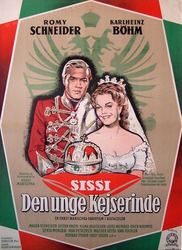Dänisches Plakatmotiv Sissi – Die junge Kaiserin