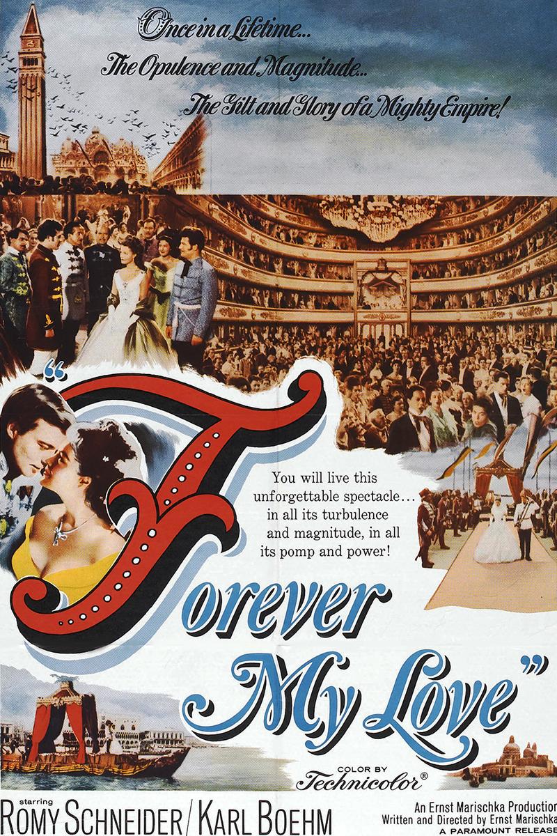 US-Plakatmotiv Sissi - My Love Forever