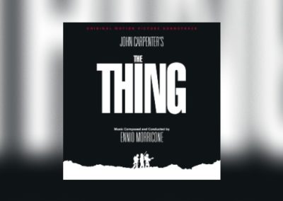 Ennio Morricones The Thing von Quartet Records
