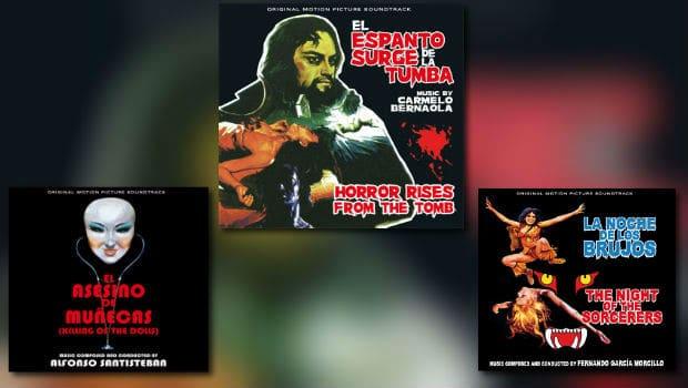 Spanische Horror-Scores von Quartet Records