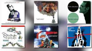 Quartet: Jones, Goodwin, Goldsmith, Mancini, Iglesias & Morricone