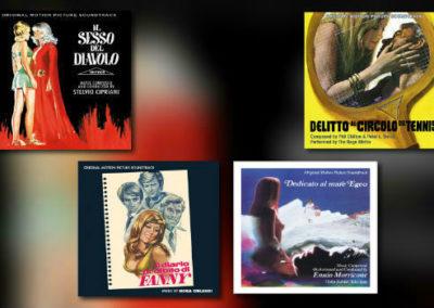 Neu von Quartet: Morricone, Cipriani, Orlandi und mehr