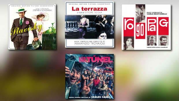 Quartet: Sondheim, Trovajoli, Rustichelli & Cases
