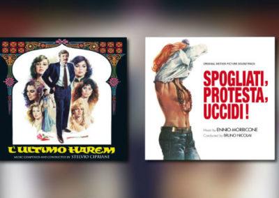 Neu von Quartet: Stelvio Cipriani & Ennio Morricone