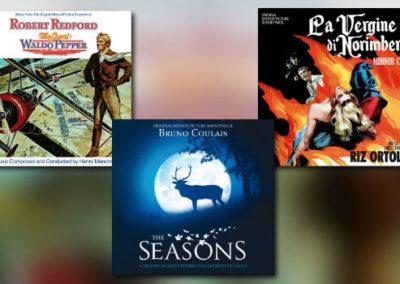Quartet: Mancini, Ortolani, Coulais