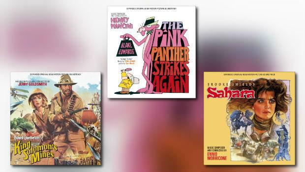 Neu von Quartet: Goldsmith, Mancini & Morricone