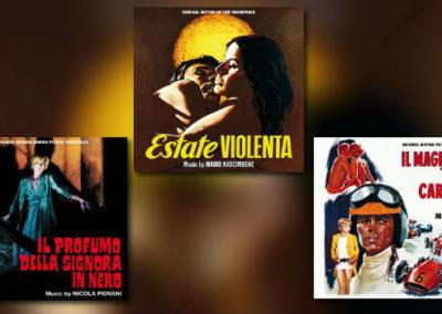 Quartet: Marchetti, Nascimbene und Piovani