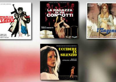 Quartet: Cipriani, Morricone, Savina, Simonetti