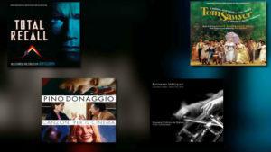 Quartet: Goldsmith, Williams, Donaggio, Vélazquez