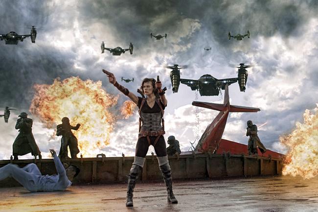 Resident Evil - Retrubution (Szene 1)