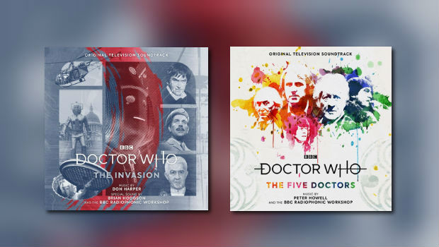Silva Screen: 2 neue Doctor-Who-CDs