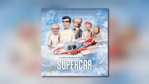 Barry Grays Supercar von Silva Screen