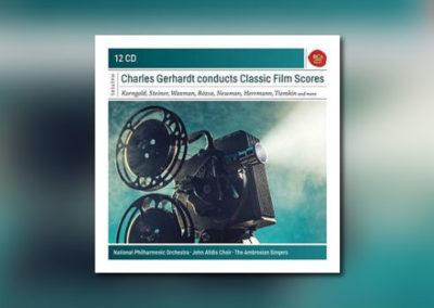 Charles Gerhardts Filmmusik-Einspielungen als Boxset