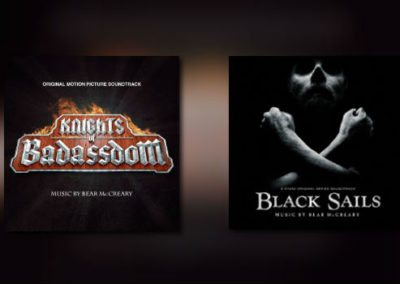 2 weitere Alben von Bear McCreary