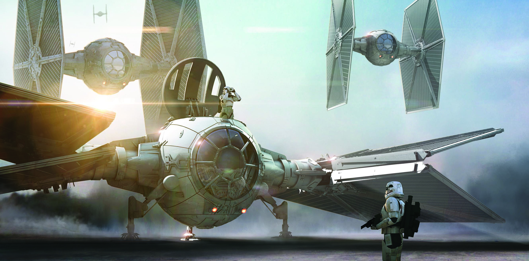 Star Wars: The Force Awakens..Conceptual Artwork…Artist: Doug Chiang... © 2016 Lucasfilm Ltd.