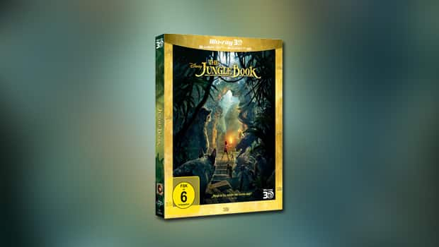 The Jungle Book (3D-Blu-ray)