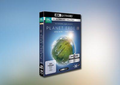 Planet Erde II: Eine Erde – viele Welten (UHD-BD-Version)