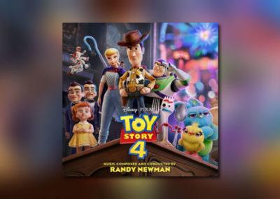 Randy Newmans Toy Story 4 im Handel erhältlich