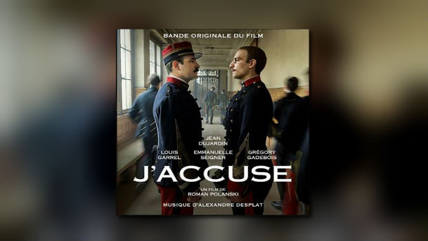 Alexandre Desplats J'accuse auf CD
