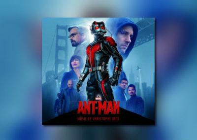 Christophe Becks Ant-Man auf CD