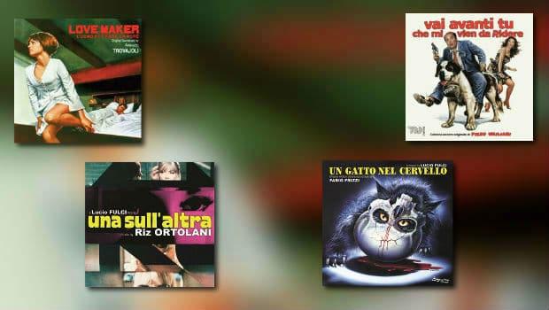 Neu von Beat / Penta: Trovajoli, Umiliani, Ortolani & Frizzi