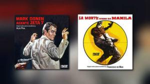 2 x Eurospy-Musik von Beat Records
