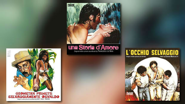 Neue Italo-CDs von Beat Records