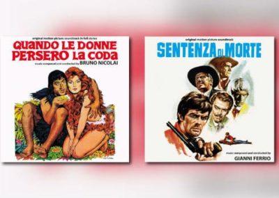 Digitmovies im April: Bruno Nicolai & Gianni Ferrio