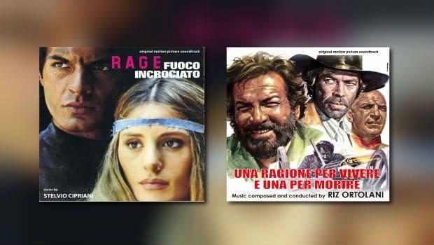 Neu von Digitmovies: Stelvio Cipriani & Riz Ortolani