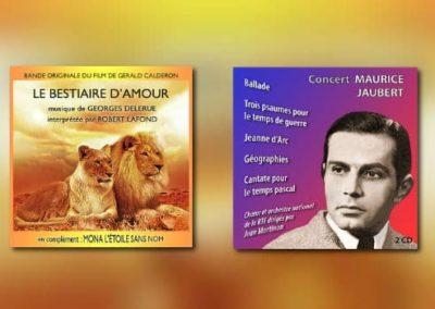 Neue CDs von Disques CinéMusique