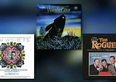 Neue Filmmusik-Alben von Dutton Vocalion