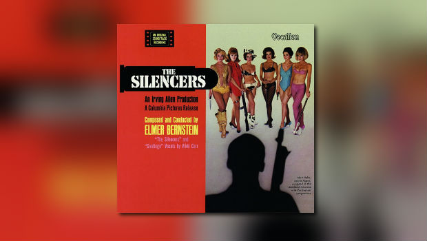 Elmer Bernsteins The  Silencers erhält CD-Premiere