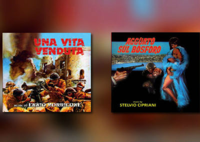 Neu von GDM: Stelvio Cipriani und Ennio Morricone