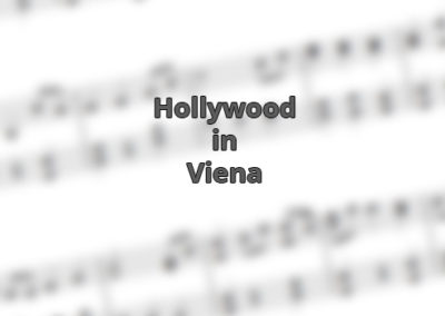 News: Hollywood in Vienna – Vienna in Hollywood