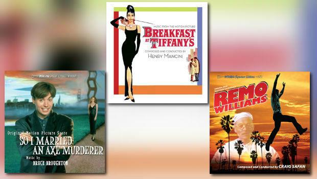 Neu von Intrada: Mancinis Frühstück bei Tiffany im Original und mehr