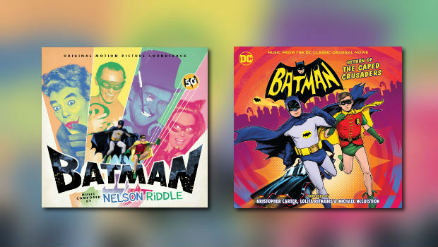 2 x Batman bei La-La Land Records