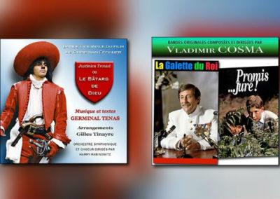 Disques Cinémusique: Vladimir Cosma & Germinal Tenas