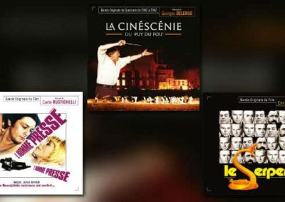 Neu von Music Box: Delerue, Morricone, Rustichelli