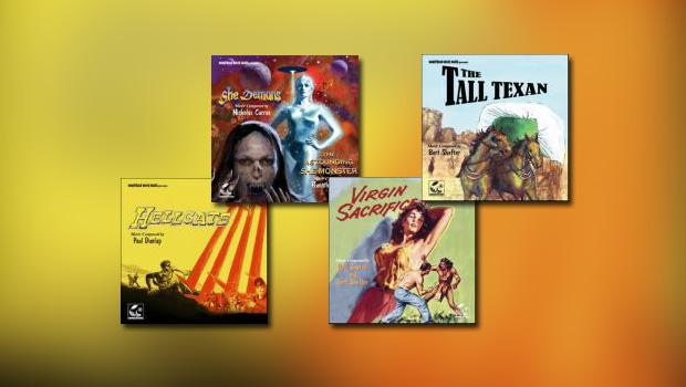 Monstrous Movie Music: 4 neue Alben