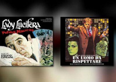 Neu von Quartet: Ennio Morricone & Stelvio Cipriani