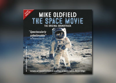 Mike Oldfields The Space Movie erstmalig auf CD.