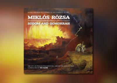 Miklós Rózsas Sodom and Gomorrah als Neueinspielung