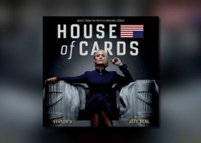 House of Cards: Season 6 bei Varèse Sarabande
